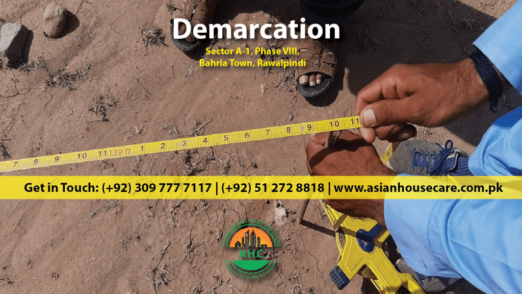 Asian House Care 1 Kanal House Project Demarcation